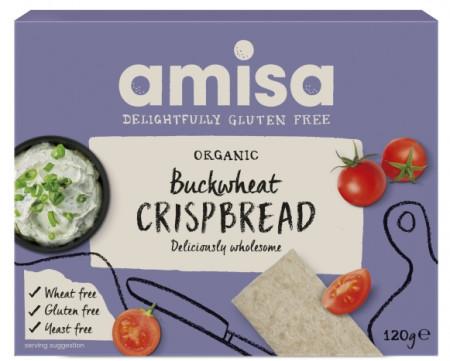 Poze Crispbread (Painici) Din Hrisca Integrala Fara Gluten Bio 120g