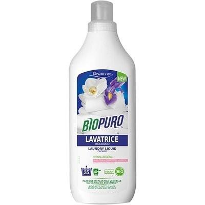 Poze Detergent hipoalergen pentru rufe albe si colorate bio 1L