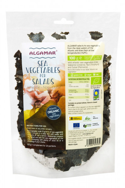 Poze Mix alge marine pentru salata eco 100g