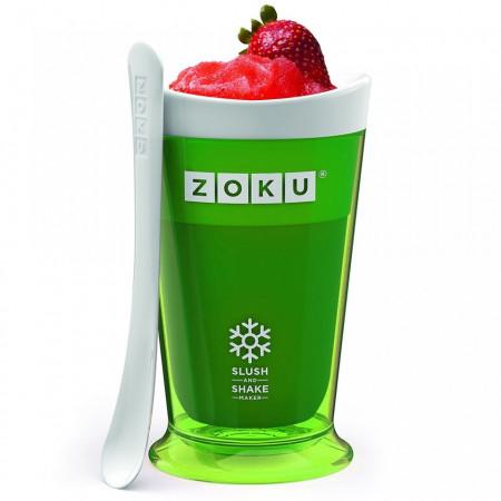 Poze Pahar Zoku ZK113-GN pentru preparare Slush sau Shake, Verde