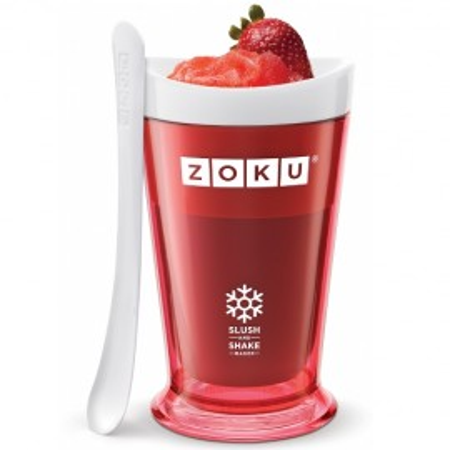 Poze Pahar Zoku ZK113-RD pentru preparare Slush sau Shake, Rosu
