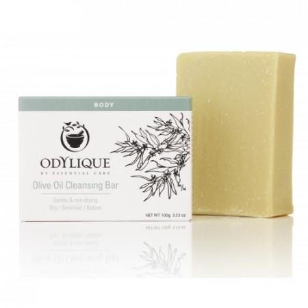 Poze Sapun solid organic hidratant, cu ulei de masline pur, pentru piele sensibila Odylique by Essential Care 100g