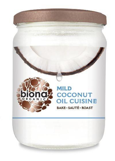 Poze Ulei de cocos dezodorizat pt. gatit bio Biona 470g