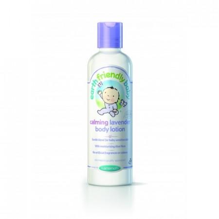 Poze Crema de corp organica cu levantica Earth Friendly Baby 250ml