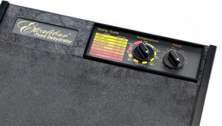 Poze Deshidrator Excalibur 9 tavi, timer, termostat (negru) 4926TBCD cu usa transparenta