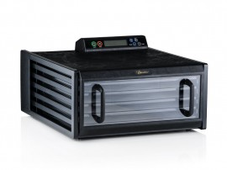 Poze Excalibur Deshidrator negru cu 5 tavi, timer, controler digital si usa transparenta 3548CDB