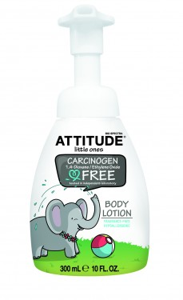 Poze Lotiune de corp bio fara miros pentru copii Attitude 300 ml