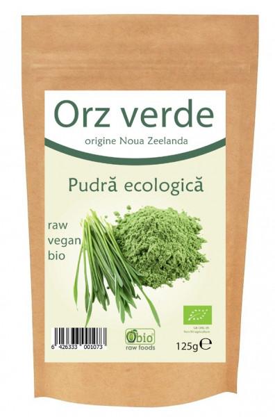 Poze Orz verde pulbere bio NZ 125g