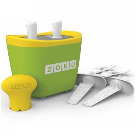 Poze Aparat pentru preparat inghetata instant cu 2 incinte Zoku ZK107-GN Verde