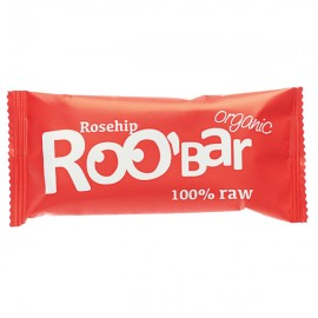 Poze Baton raw bio cu macese Roo'Bar 50g