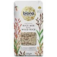 Poze Orez mixt cu orez salbatic bio 500g Biona