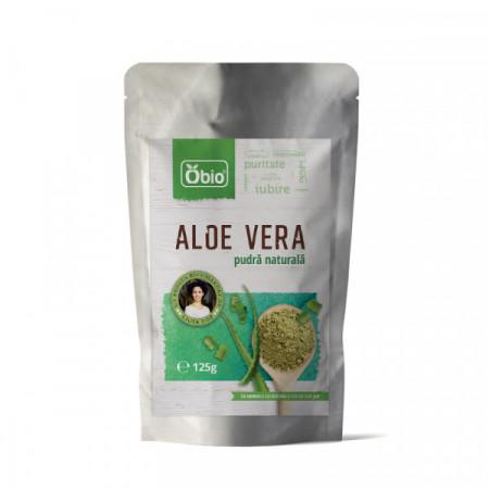 Poze Aloe vera pulbere Obio 125g- Produs recomandat de Ligia Pop