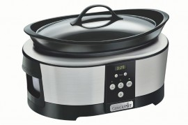 Poze Aparat de gatit Crock Pot slow cooker 5.7 L, Digital, argintiu