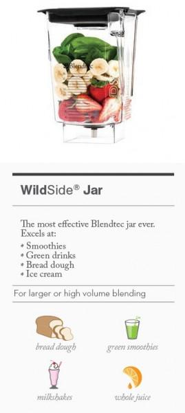 Poze Cana Blendtec WildSide- 2,66 L