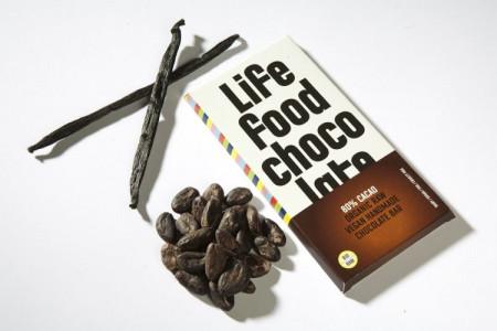 Poze Ciocolata cu 80% cacao raw bio Lifefood 70g