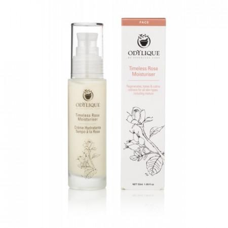 Poze Crema hidratanta organica cu trandafiri pentru fata si ochi Odylique by Essential Care 50ml