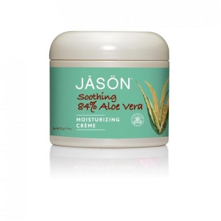 Poze Crema organica de fata, restructuranta, cu 84% aloe vera organica, 113g, Jason