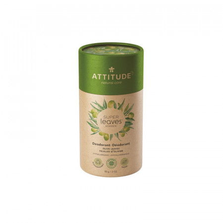 Poze Deodorant stick natural Attitude Superleaves, frunze de maslin, 85 g