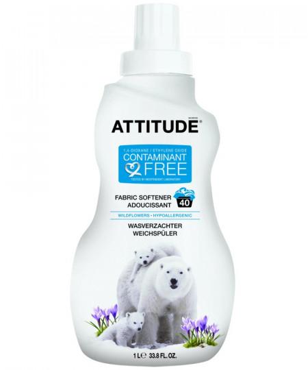 Poze Detergent bio lichid pentru rufe cu flori de camp Attitude 1 L