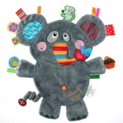 Poze Minipaturica senzoriala Label Label Friends - Elefantelul