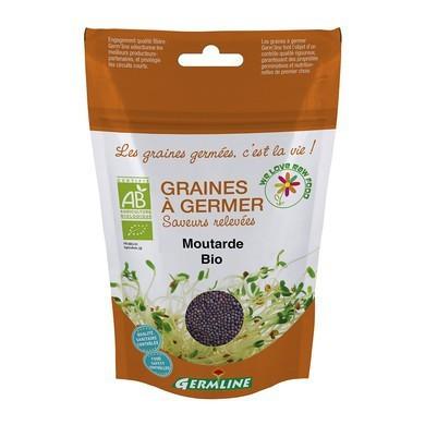 Poze Mustar boabe pt. germinat bio Germline 100g