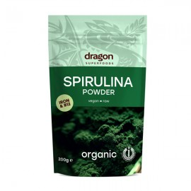 Poze Spirulina pulbere organica Dragon Superfood 200g