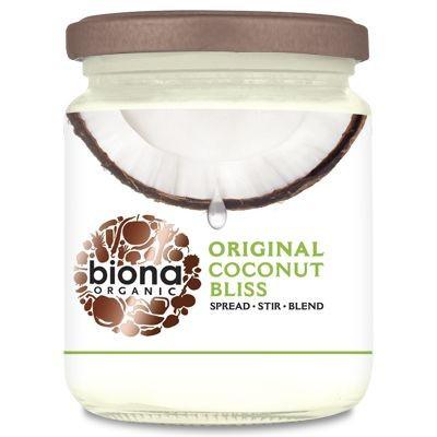 Poze Unt tartinabil de cocos Coconut Bliss bio Biona, 250g