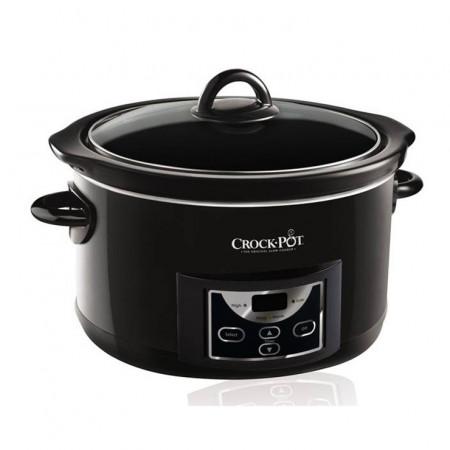 Poze Aparat de gatit Crock Pot slow cooker 4.7 L, Digital, negru