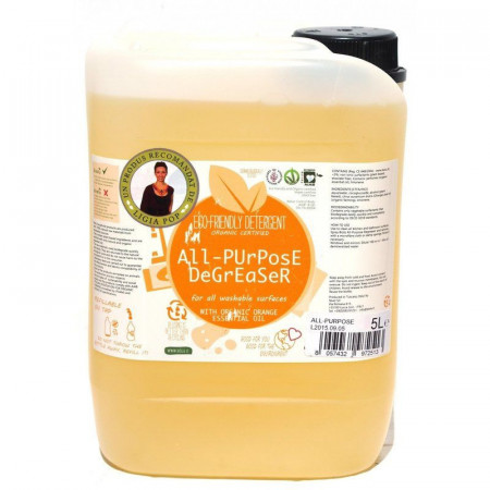 Poze Biolu detergent ecologic universal cu ulei de portocale 5L