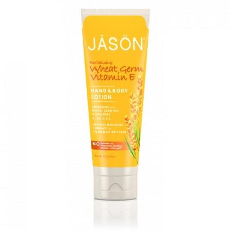 Poze Crema organica pentru maini si corp cu vitamina E, fara miros, pt pielea matura, 240g, Jason