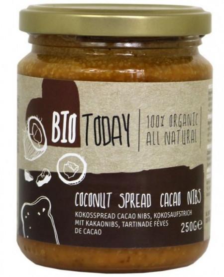 Poze Crema tartinabila de cocos cu cacao bio 250g Bio Today