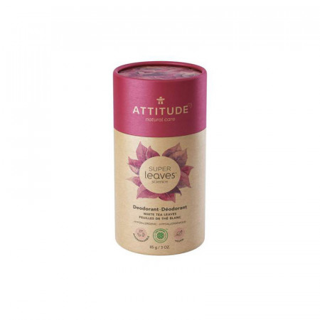 Poze Deodorant stick natural Attitude Superleaves, frunze de ceai alb, 85 g