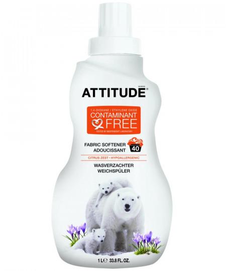 Poze Detergent bio lichid pentru rufe cu citrus Attitude 1 L 40 de spalari