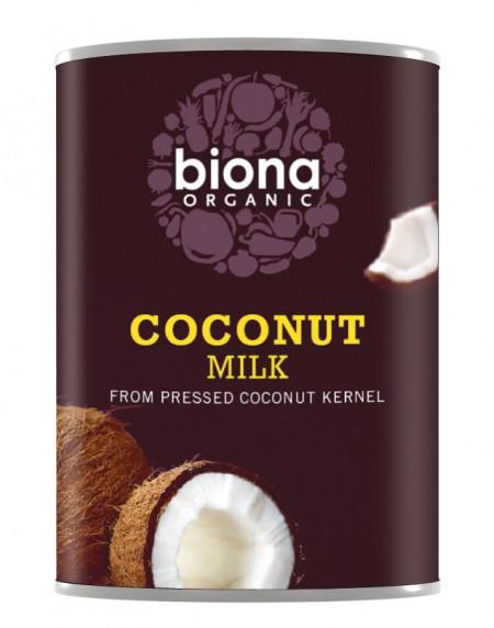 Poze Lapte de cocos bio Biona, 400ml