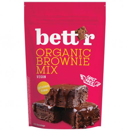 Poze Mix Pentru Prajitura Brownie Fara Gluten Eco 400g Bettr