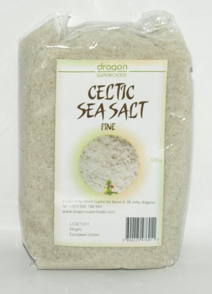 Poze Sare celtica fina (sare gri) Dragon Superfoods 500g