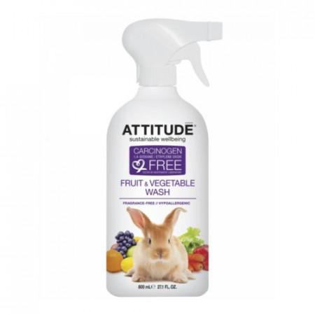 Poze Solutie pentru deceruit fructe si legume Attitude 800 ml