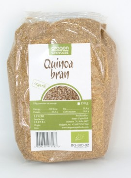 Poze Tarate de quinoa bio Dragon Superfoods 150g