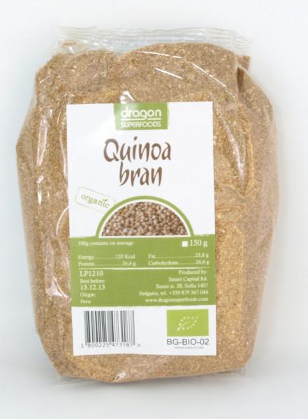 Poze Tarate de quinoa bio Dragon Superfoods 150g