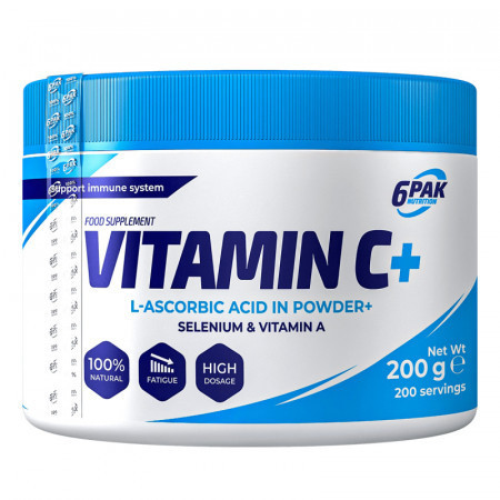 Poze Vitamina C Plus pudra 200g 6Pak