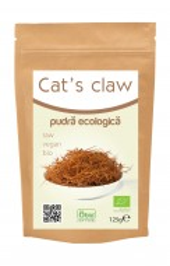 Cat's claw (gheara matei) pulbere raw 125g- Recomandat de Ligia Pop
