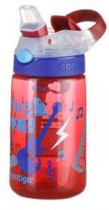 Cana cu pai pentru copii Contigo Gizmo Flip 420 ml, BPA free- Cardinal Rock