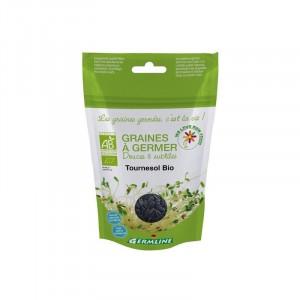 Seminte de floarea soarelui pt. germinat bio Germline 100g