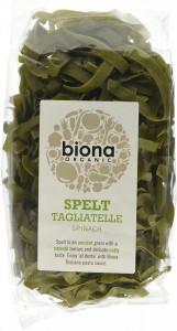 Tagliatelle din spelta cu spanac eco 250g Biona