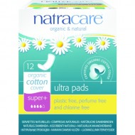 Absorbante organice super plus (4 picaturi) Natracare 12buc.