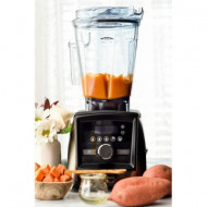 Blender Vitamix A3500i Ascent, 1400 W, 2l, Self-Detect Technology, 5 programe prestabilite, conectare wireless, timer digital, Inox