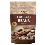 Boabe de cacao intregi bio Dragon Superfoods 200g