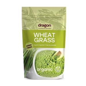 Iarba Grau Pudra Organic Raw Dragon Superfood 150g