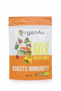 Smoothie Mix, Resistance, iarba de orz, spirulina si iarba de grau, OrganaAx, 120 g