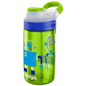 Sticla pentru copii Gizmo Sip Chartreuse Robots, 420ml, Contigo